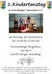 Kindertanztag Flyer